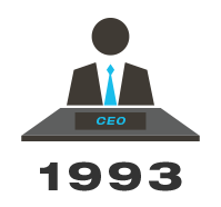 1993: New CEO